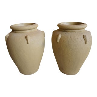 Terracotta Planters - A Pair For Sale