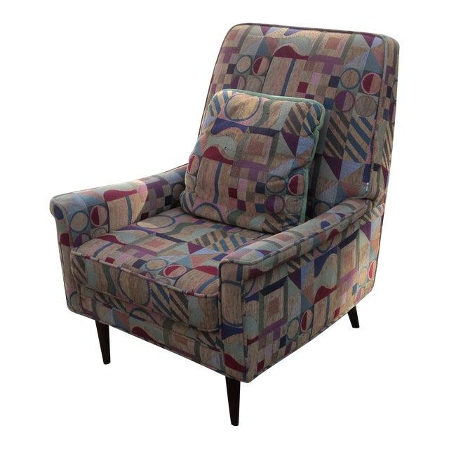 Mid-Century Modern Lounge Club Chair - Image 1 of 9