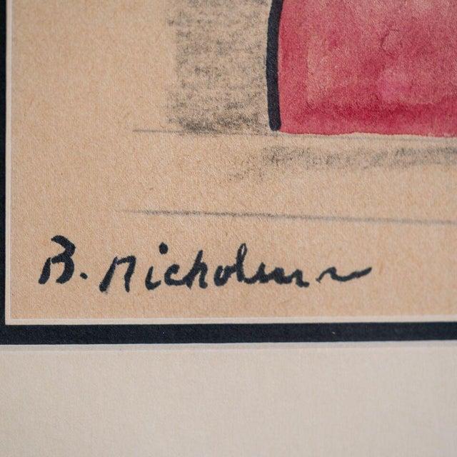 slant select -- Untitled. Nicholson (Royal Artist UK) - Image 2 of 3