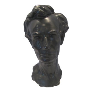 1970s Figurative Alva Museum Abraham Lincoln Bust For Sale