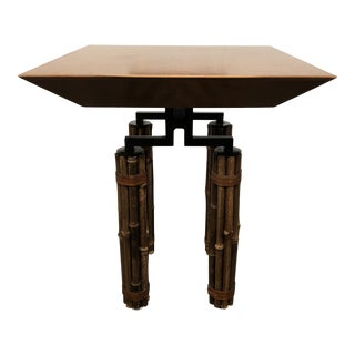 McGuire Huxley Martini Table For Sale