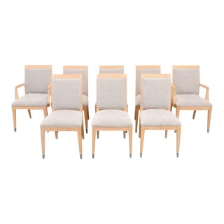 Jay Spectre for Century Mid-Century Modern Dining Chairs- Set of 8 For Sale