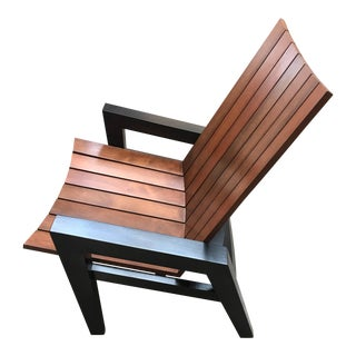 Rob Edley Welborn Prototype Neo-Adirondack Chair For Sale
