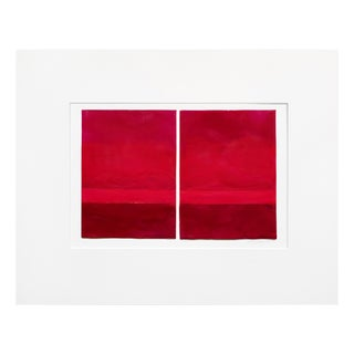 """Janise Yntema """"Vermillion"""", Painting For Sale"""