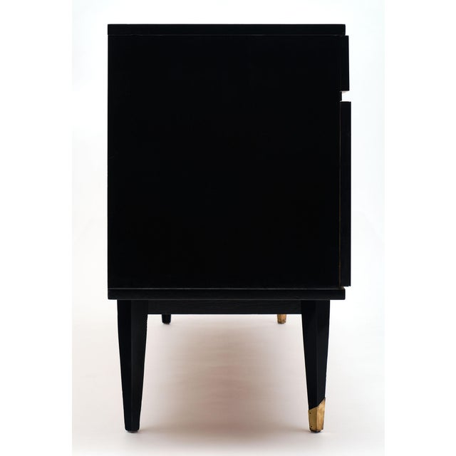 Mid-Century Modern Mirrored Buffet For Sale - Image 11 of 12