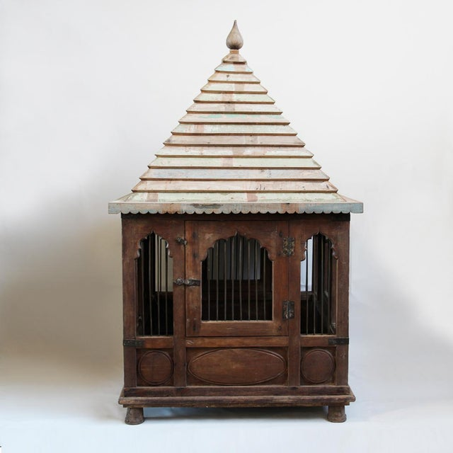 Asian Antique Indian Chicken Temple For Sale - Image 3 of 4