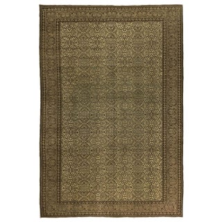 Flowers of 7 Mountains Kayseri Carpet in Cream, Dove Grey and Coffee For Sale