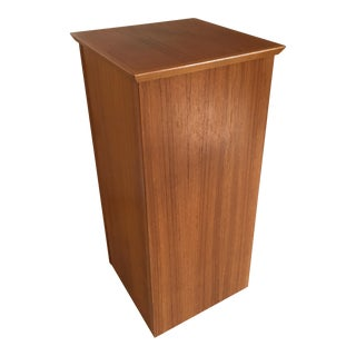 Mid-Century Modern Danish Teak Pedestal Table
