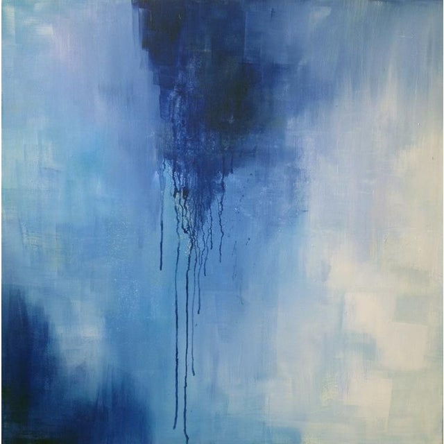 2010s Dolores Tema, Neo Blue Painting, 2015 For Sale - Image 5 of 5