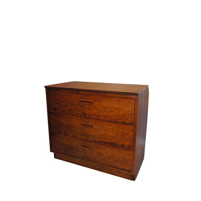 Lane Danish Mid Century Modern 3 Drawer Chest/Dresser - Image 2 of 6