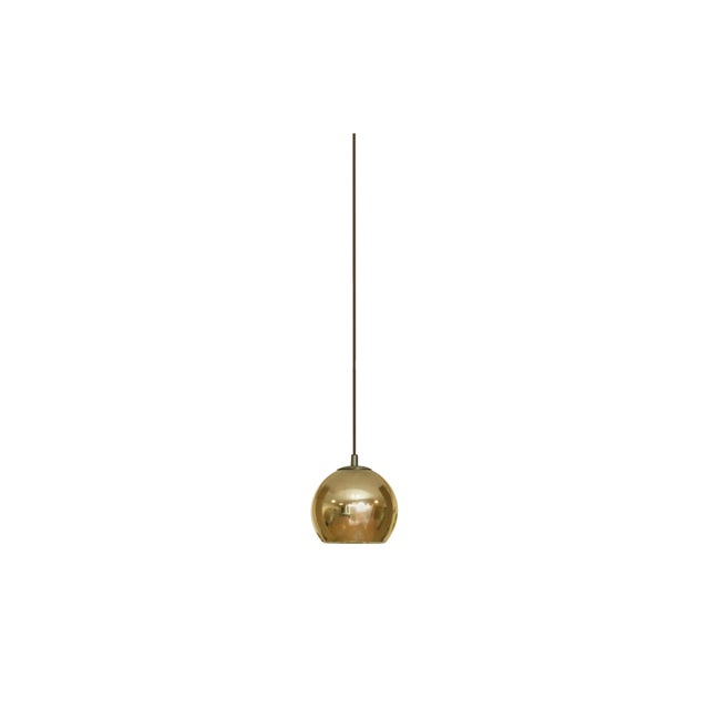 Contemporary Contardi Kubric SO Pendant Light W/ Diffuser and Cable in Bronze and Gold For Sale - Image 3 of 3