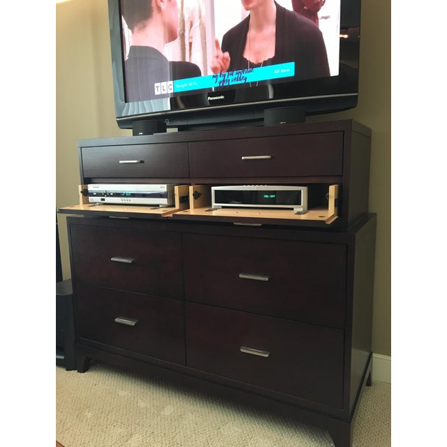 Tiered Dresser Ethan Allen Media Cabinet For Sale In Richmond - Image 6 of 6