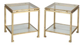 Image of Gold Finish Tables