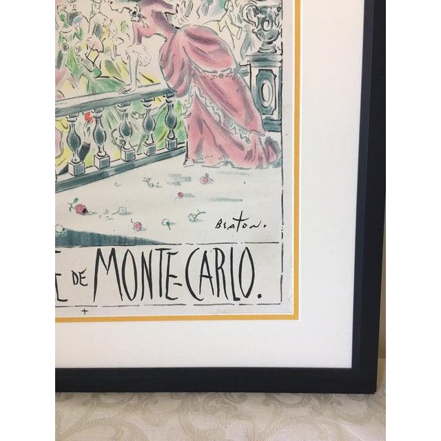 Cecil Beaton 'Centenaire De Monte Carlo' Lithograph - Image 5 of 8