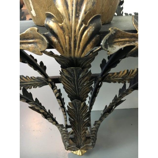 Metal John Richard Black Wrought Iron Mirror For Sale - Image 7 of 10