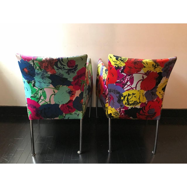 1990s Pair of Chairs From the Versace Showroom, 1990s For Sale - Image 5 of 9