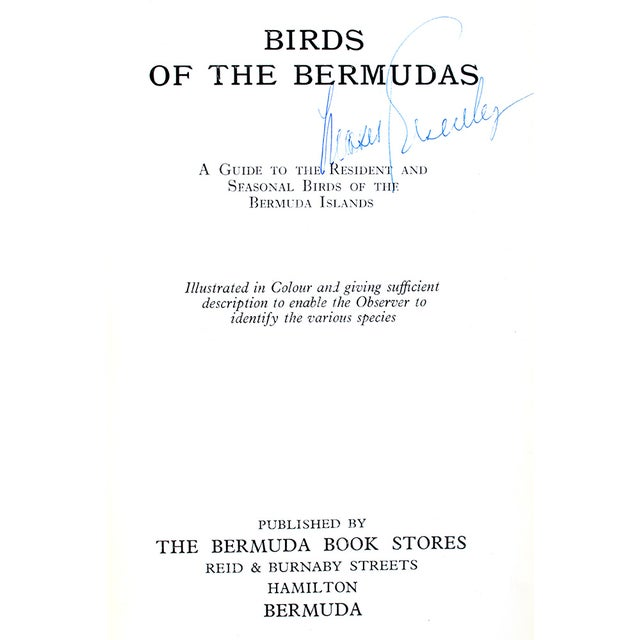 Traditional Birds of Bermudas Book For Sale - Image 3 of 3