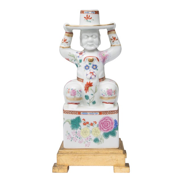 Chinese Warrior as a Table Lamp For Sale
