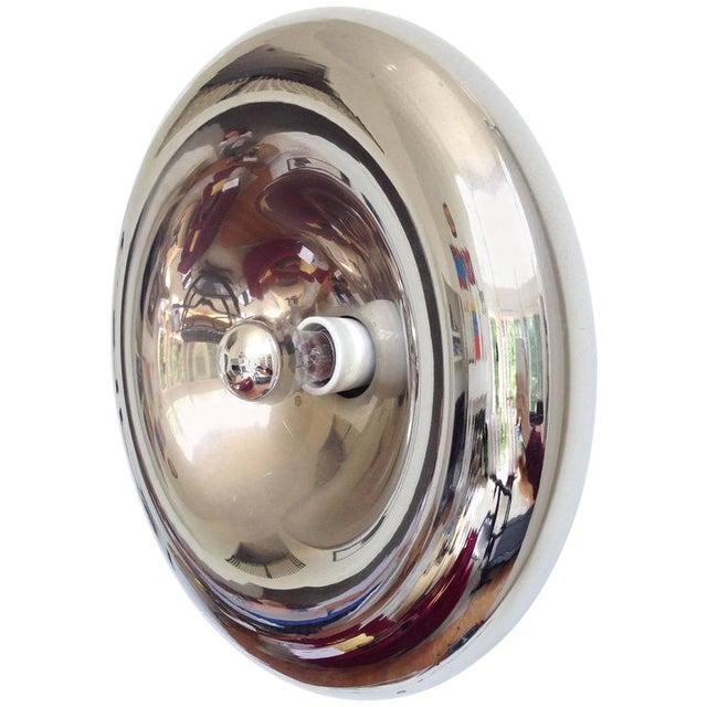 Sciolari Style Polished Chrome Sconce - Image 1 of 4