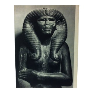 """Circa 1970 """"Sphinx of Amenemhat III"""" Great Sculpture of Ancient Egypt Print For Sale"""