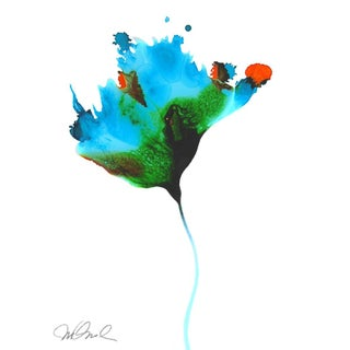 Abstract Botanical No.2, Giclee Print. For Sale