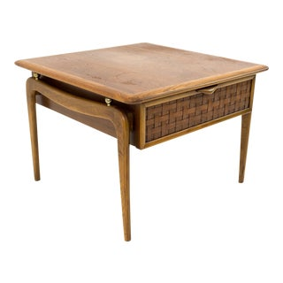 Warren Church for Lane Perception Mid Century Nightstand Side End Table For Sale