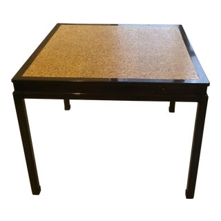 20th Century Cork Top Card Table