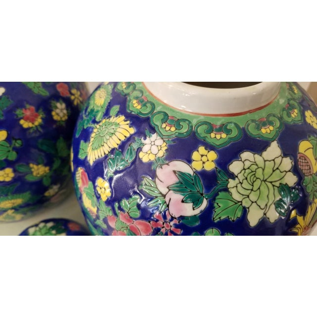 Ceramic Contemporary Asian Ginger Jars - a Pair For Sale - Image 7 of 11
