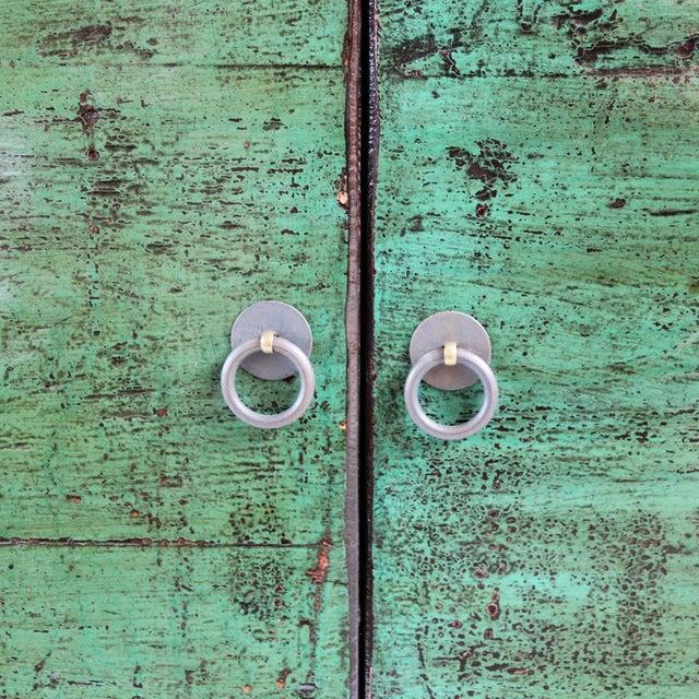 Emerald Green Mongolian Sideboard - Image 4 of 4