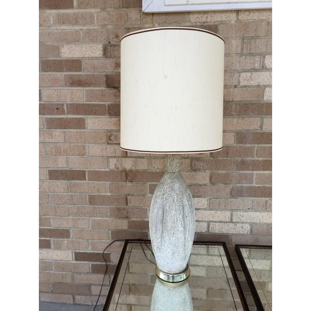 Mid-Century Ceramic Table Lamp - Image 3 of 5