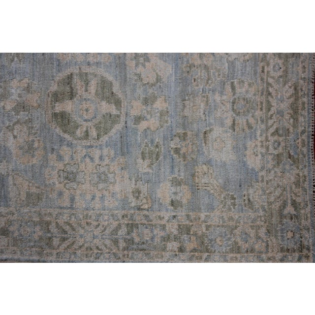 """Afghan Aara Rugs Inc. Hand Knotted Oushak Rug - 8'0 X 5'3"""" For Sale - Image 3 of 6"""