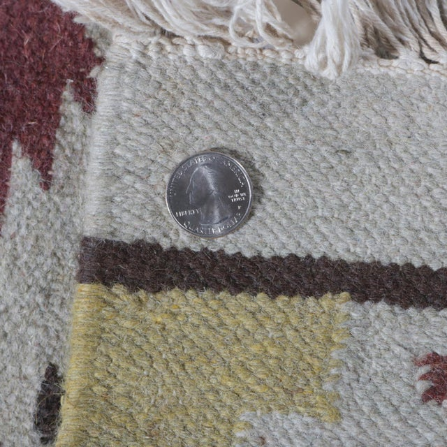 Native American Indian Navajo Style Area Rug Stylized
