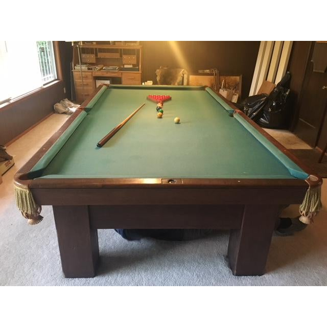 19th Century Slate Top Snooker Table For Sale In Portland, OR - Image 6 of 13