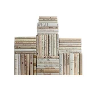 Modern Beach Book Wall : Set of Fifty Decorative Books