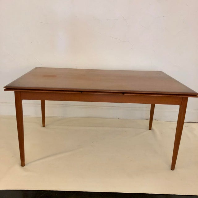 Niels Moller Teak Dining Extension Table by Niels Moller For Sale - Image 4 of 10