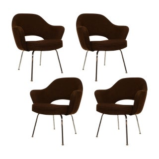 Eero Saarinen Executive Armchairs for Knoll - Set of 4 For Sale