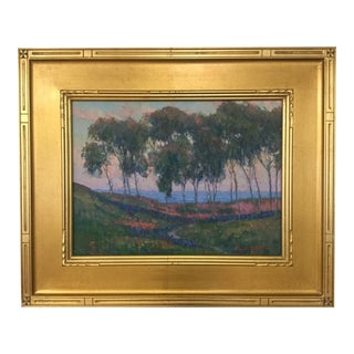 California Artist William Dorsey Oil on Canvas Painting