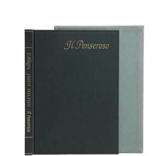 'Il Penseroso With the Paintings by William Blake' Book For Sale