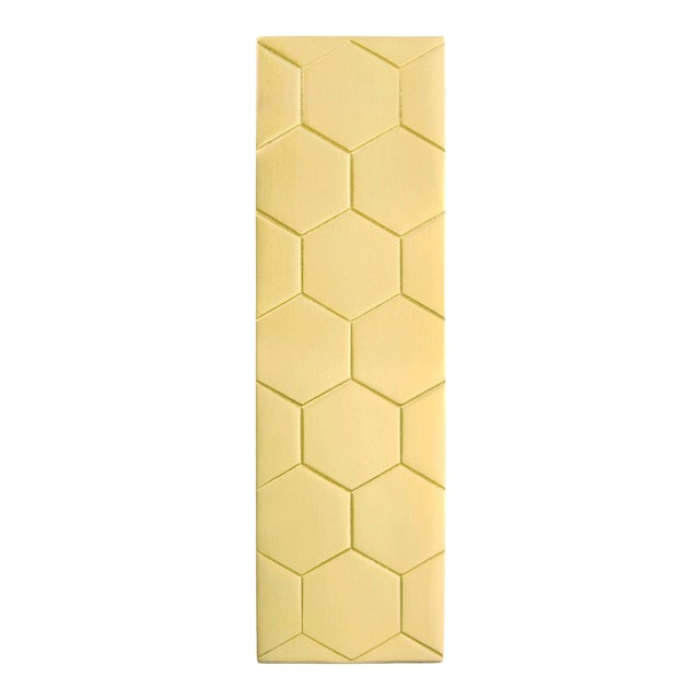 Honeycomb Pull - Satin Brass For Sale