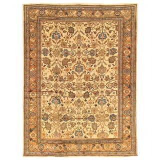 "Modern Pasargad Home Mahal Lamb's Wool Area Rug- 9' X 11'10"" For Sale"