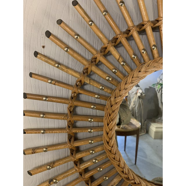 the best of French MCM design, these mirrors reflected (ha!) the idea in the 50s and 60s the return to nature sentiments...