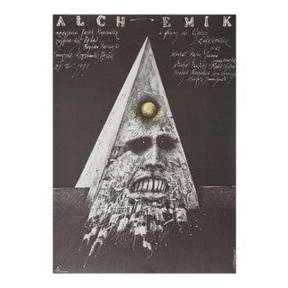Alchemik 1989 Polish B1 Film Poster For Sale
