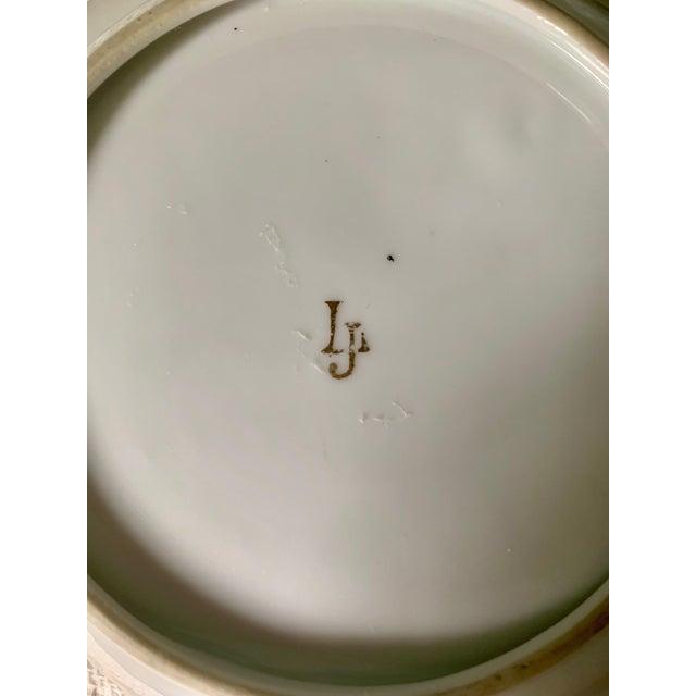Herend Lj Porcelain Japan Butterfly Dish For Sale - Image 4 of 5