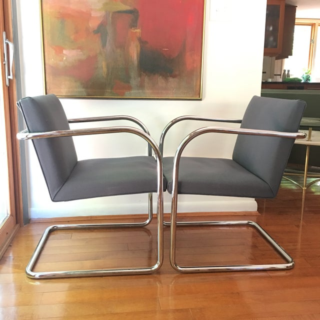 Mies Van Der Rohe for Thonet Brno Chairs - a Pair For Sale In Cincinnati - Image 6 of 13