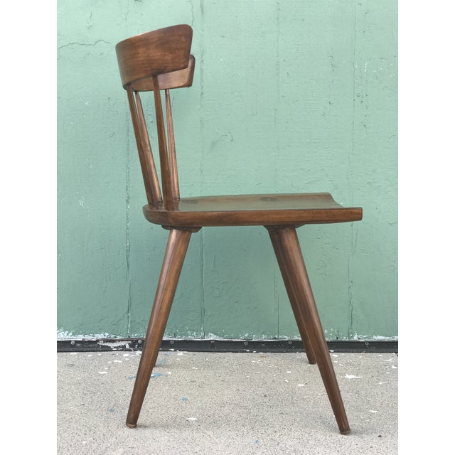 Brown Mid Century Modern Dining Chairs by Paul McCobb- Set of 4 For Sale - Image 8 of 13