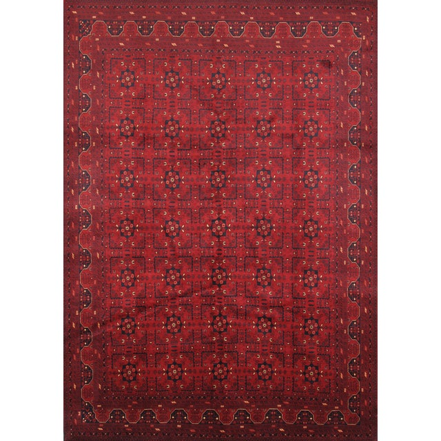 "Pasargad Yamoud Collection Rug - 6'10"" X 9'9"" - Image 1 of 2"
