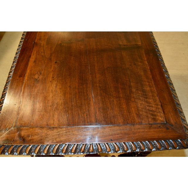 18th Century Walnut Side Table For Sale - Image 9 of 10