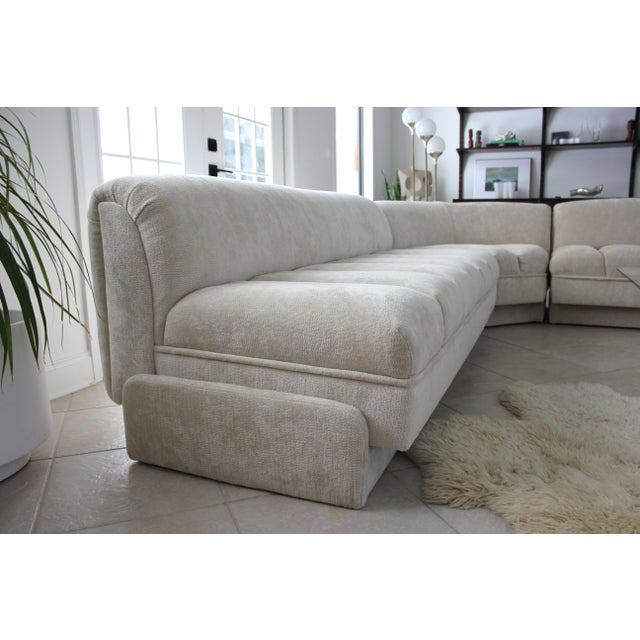 Vladimir Kagan Attributed Directional Sectional Sofa For Sale In Tampa - Image 6 of 13