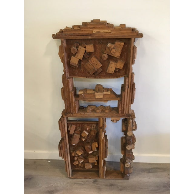 Wood Sculpture by George J. Marinko For Sale In New York - Image 6 of 7