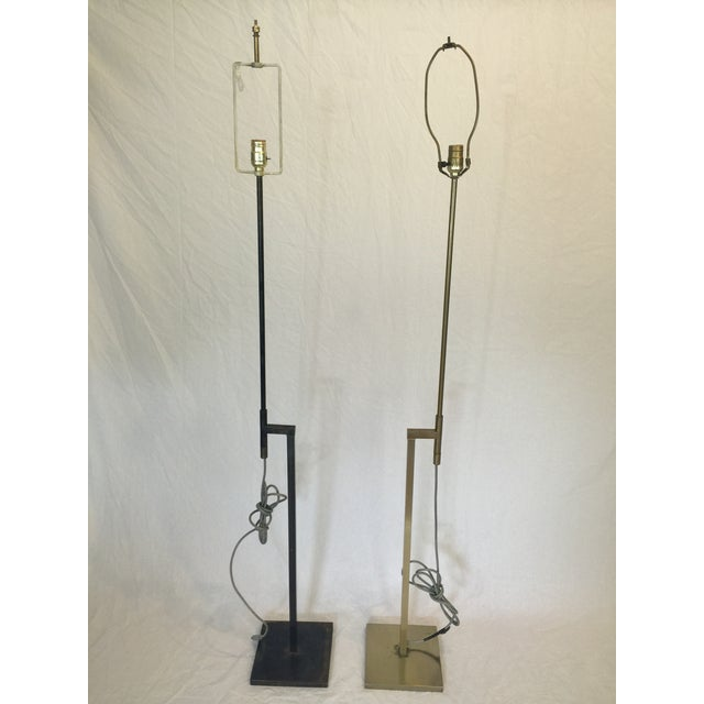 Vintage Laurel Adjustable Floor Lamps - A Pair - Image 10 of 11